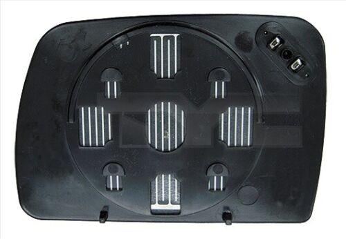 TyC cristal espejo exterior 303-0124-1 para bmw x5 e53 izquierda de calentamiento asphärisch