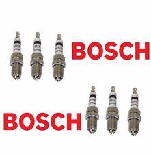 6 PC BMW Spark Plugs Bosch Platinum+4   Factory High Power Set E39/E46-M54