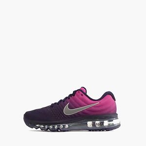 NIKE AIR MAX 2017 RUNNING WHITE SHOES