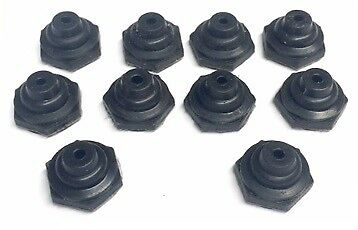 Marine Boat  Lighted Tip Toggle Switch Boots 10 Pack