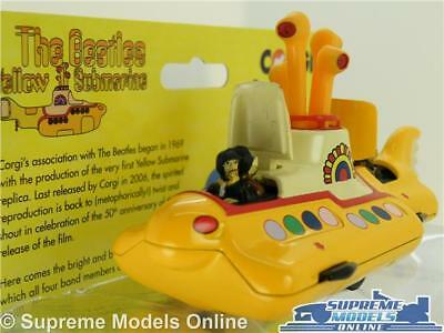 The Beatles Corgi Yellow Submarine Classic Model Cc05401 John Paul Ringo Geo T3