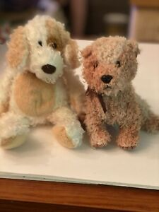 Beanie Baby dogs set of 2 Diggs &Scampy. No Tags
