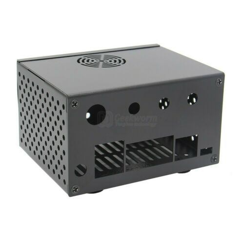 NVIDIA Jetson Nano metal case with power reset switch reserved antenna hole