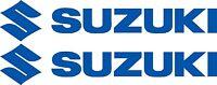 Suzuki Decals Two Huge 1000mm 8 Year Uv Vinyl choice Of Colours