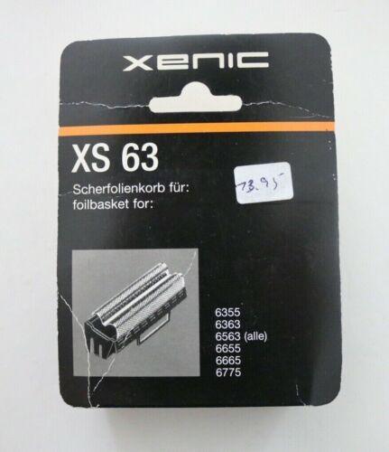 15 Xenic Scherfolie XS  63 Grundig NEU FÜR6355,6363,6563,6655,6665,6775