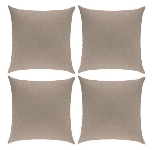 4 PCS Cushion Covers Linen-Look Cushion Cover Pillow Case Decorative Cushion 40x80cm