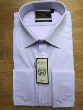 BNWT EU:42 UK:16.5 LILAC Thomas Pink Finest 170/'s Shirt  RRP: £175