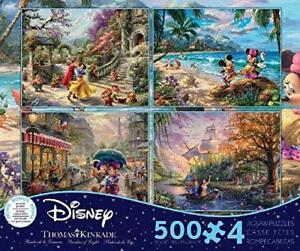 THOMAS-KINKADE-DISNEY-DREAMS-COLLECTION-MULTI-PACK-4-IN-1-PUZZLE-500-PCS-3672-1