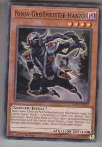 Yu-GI-OH-Ninja-Grossmeister-Hanzo-Super-Rare-SHVA-DE022-NEU