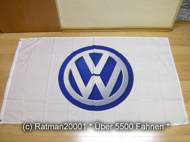 Fahnen Flagge VW - 90 x 150 cm