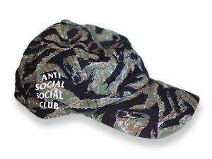dd4c83ca2323 2017 Anti Social Social Club  Weird Cap  Tiger Camo 100% authentic ...