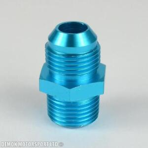AN8-8-to-AN8-8-Straight-Thread-Alloy-Adapter-Fitting-Blue