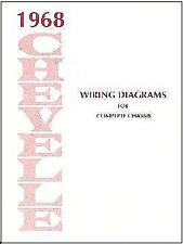 1968 Chevelle El Camino Wiring Diagram For Sale Online Ebay