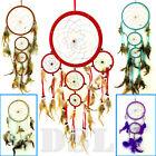 Dream Catcher Nylon Feather Handmade American Indian Dreamcatcher 4Size✔6Colour✔