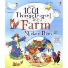 1001 Things to Spot on the Farm Sticker Book by Gillian Doherty (Paperback, 2014)