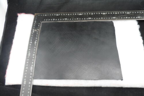 Black Rubber Solid Nitrile 300mm x240mmx1.5mm thick diaphram suitable  freepost