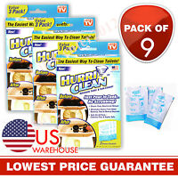 Hurriclean Automatic Toilet Cleaner Bowl Tank Cleaner As Seen On Tv (9-pack)