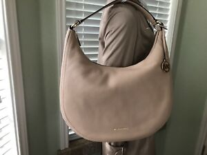 7f69062350852 Image is loading MICHAEL-Michael-Kors-Lydia-Large-Hobo-Oyster