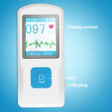 177 Handheld Portable Ecg Ekg Machine Heart Beat Monitor Usb Bluetooth System