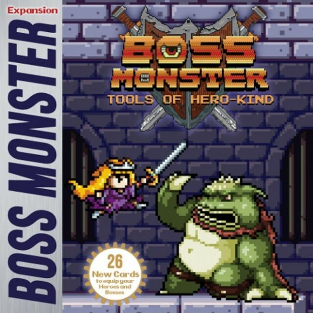 Boss Monster Tools Of Hero-kind Expansion  - BRAND NEW