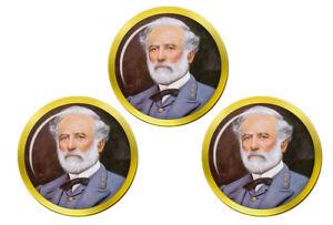 Robert-E-Lee-Marqueurs-de-Balles-de-Golf