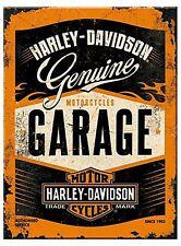 Harley Davidson Garage steel fridge magnet (na)