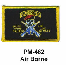 """3""""  AIR BORNE Embroidered Military Patch"""