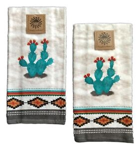 Set of 2 SOUTHWEST CRAZE Terry Kitchen Towels by Kay Dee ...