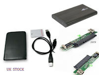 USB TO 2.5 SATA HDD Enclosure Caddy Case Hard Drive UK