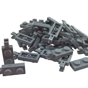 Horizontal Grip Lego Plate Choose Colour NEW Modified 1 x 2 with Clip on Side