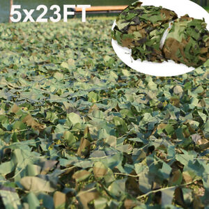 5x23FT-Camouflage-Camo-Army-Net-Netting-Woodland-Camping-Hunting-Cover-Shade-USA
