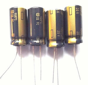 2 PCs Panasonic Low ESR Capacitor EEUFR 1v152l 1500uf 35v 12,5x30mm rm5 #bp