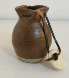 Handmade-Alford-Studio-Pottery-Coin-Purse-Holder-Fantasy-Larp-D-amp-D-Merchant