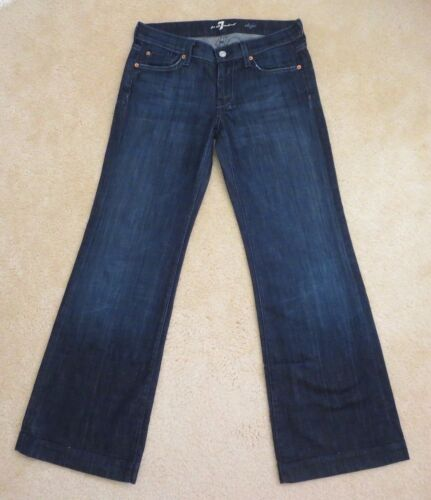 Flare Dark All Wash Mankind For 7 Dojo Jeans taglia Womens 27 zX54xwq