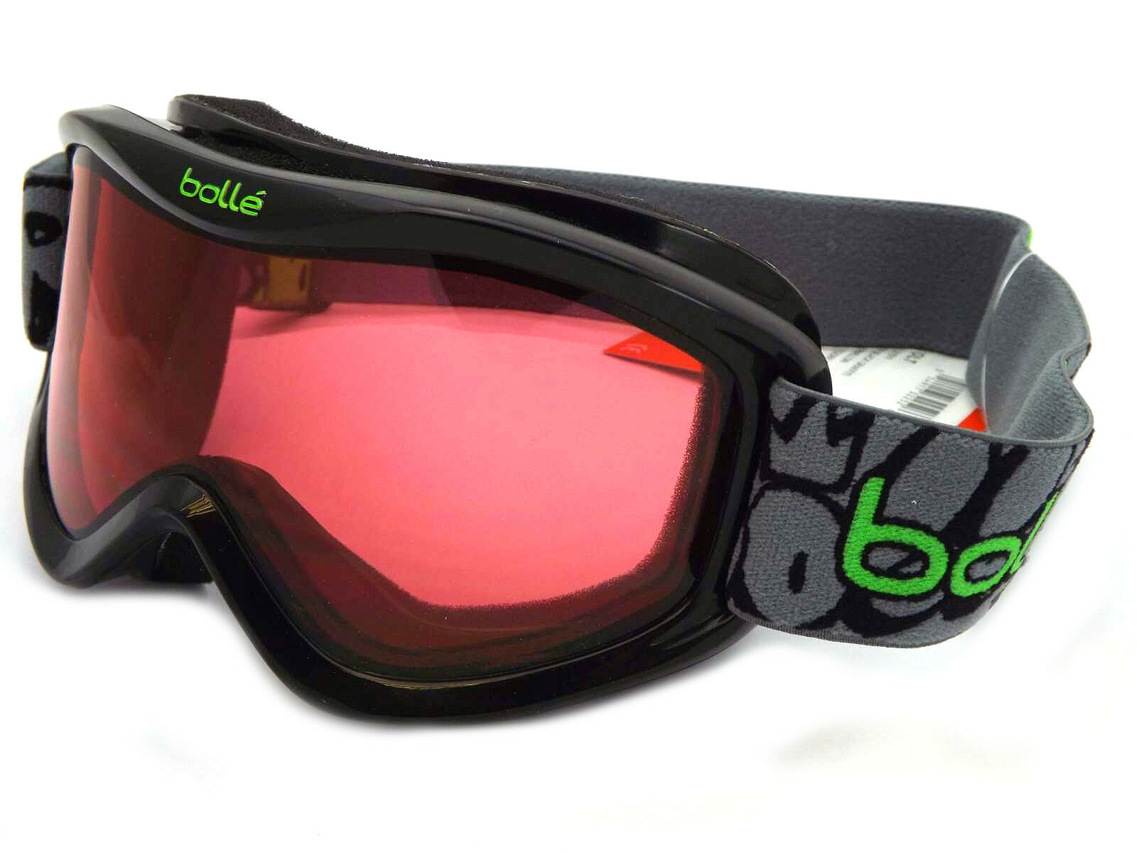 f4509a592a23 Bolle Volt High Performance Junior Goggles Black Graffiti vermillon ...