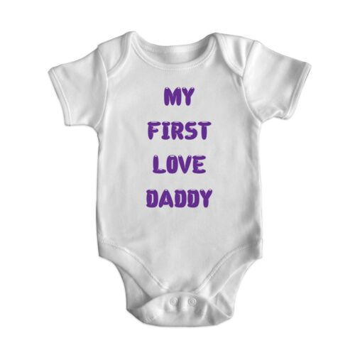 New Cute Funny Short Sleeve Baby Bodysuit Rompers Baby Grows Newborn 0-18 M 4