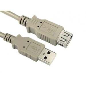 1m-CABLE-ALARGADOR-USB-2-0-Un-hombre-que-Hembra-Prima-24-AWG-Range-Color-Beige