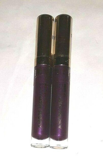 2 tube lot MILANI AMORE MATTALLICS LIP CREME GLOSS 08 RAVING MATTE sealed