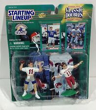 New England Patriots Drew Bledsoe 1998 Starting Lineup Classic Doubles Card