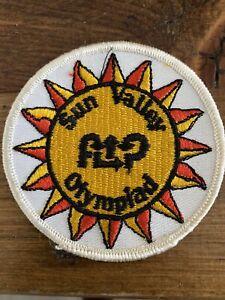 Vintage Rare Flip Wilson's SUN VALLEY Olympiad Skiing Ski Patch Badge 1976