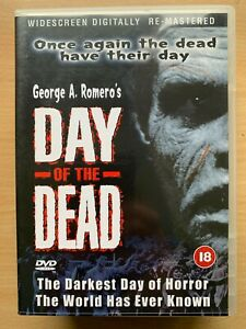 Day-Of-The-Dead-DVD-1985-George-Romero-Horreur-Zombie-Film-Classique-Original
