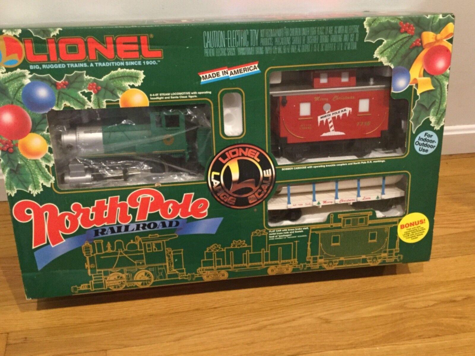 Lionel 881004 NORTH POLE Treno Set in Scatola