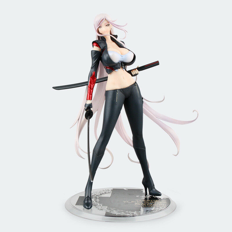 Darkness 1//7 PVC Figure New Loose Orchid Seed Triage X Yuko Sagiri Black Ver