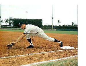 MICKEY MANTLE  NEW YORK YANKEES  8x10 PHOTO BASEBALL HOF USA MLB