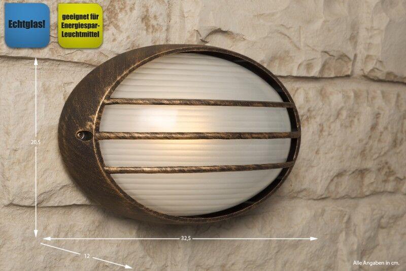 Applique extérieure marrón lampe murale de jardin IP 54 luminaire moderne 8229