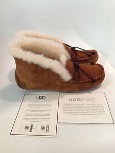 UGG-Alena-Chestnut-Moccasin-Slipper-Women-039-s-US-sizes-5-12-NEW