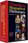 Chambers Biographical Dictionary by Chambers (Hardback, 2011)