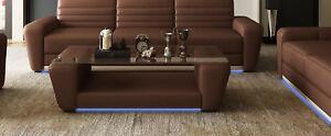 Moderne Designer Table En Verre Appoint Salon Table Table Basse Canapé Tables Neuf-afficher Le Titre D'origine Renforcement De La Taille Et Des Nerfs