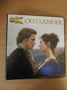 Outlander Season 2 Official Cryptozoic Binder Verzamelingen