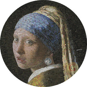 GREAT-MICROMOSAIC-PASSION-GIRL-WITH-PEARL-EARRING-2019-3-OZ-20-DOLLARS-PRESALE